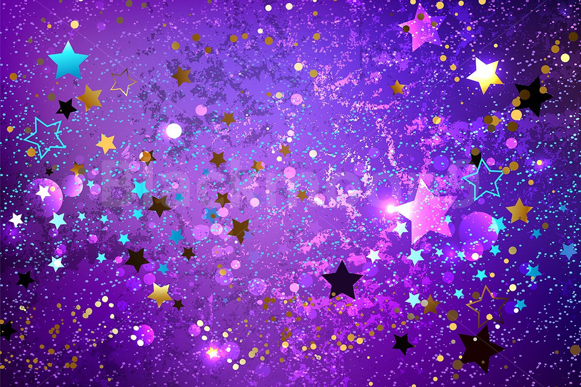 Purple Background with Stars 1160x773