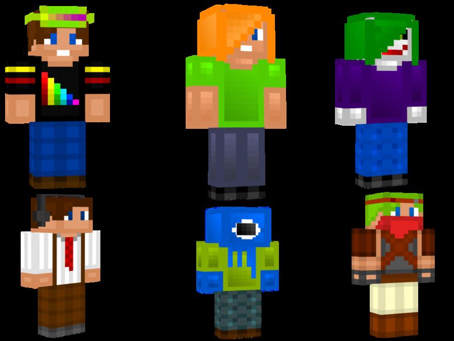 Cool Minecraft Girl Skin Wallpaper WallpaperSafari - Skins para minecraft pe joker