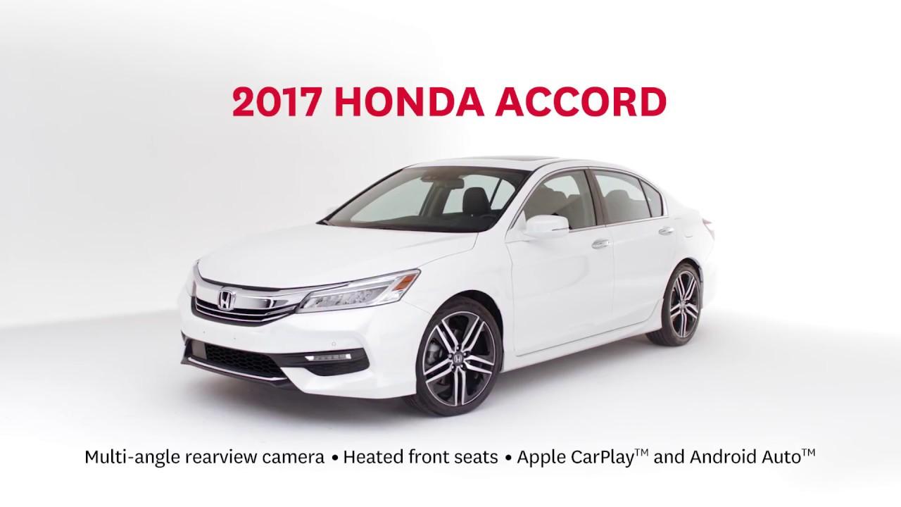 2017 Honda Accord Display Audio System with HondaLink 1280x720
