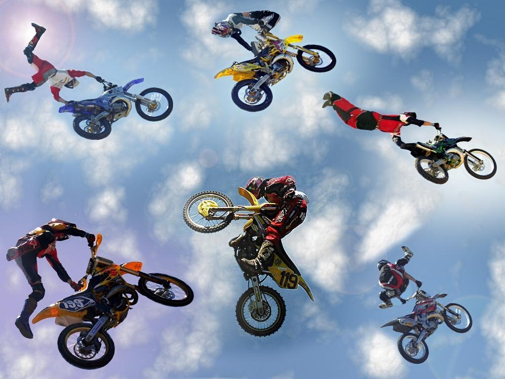 ktm min cross race corner fans motocross wallpaper 1024x768