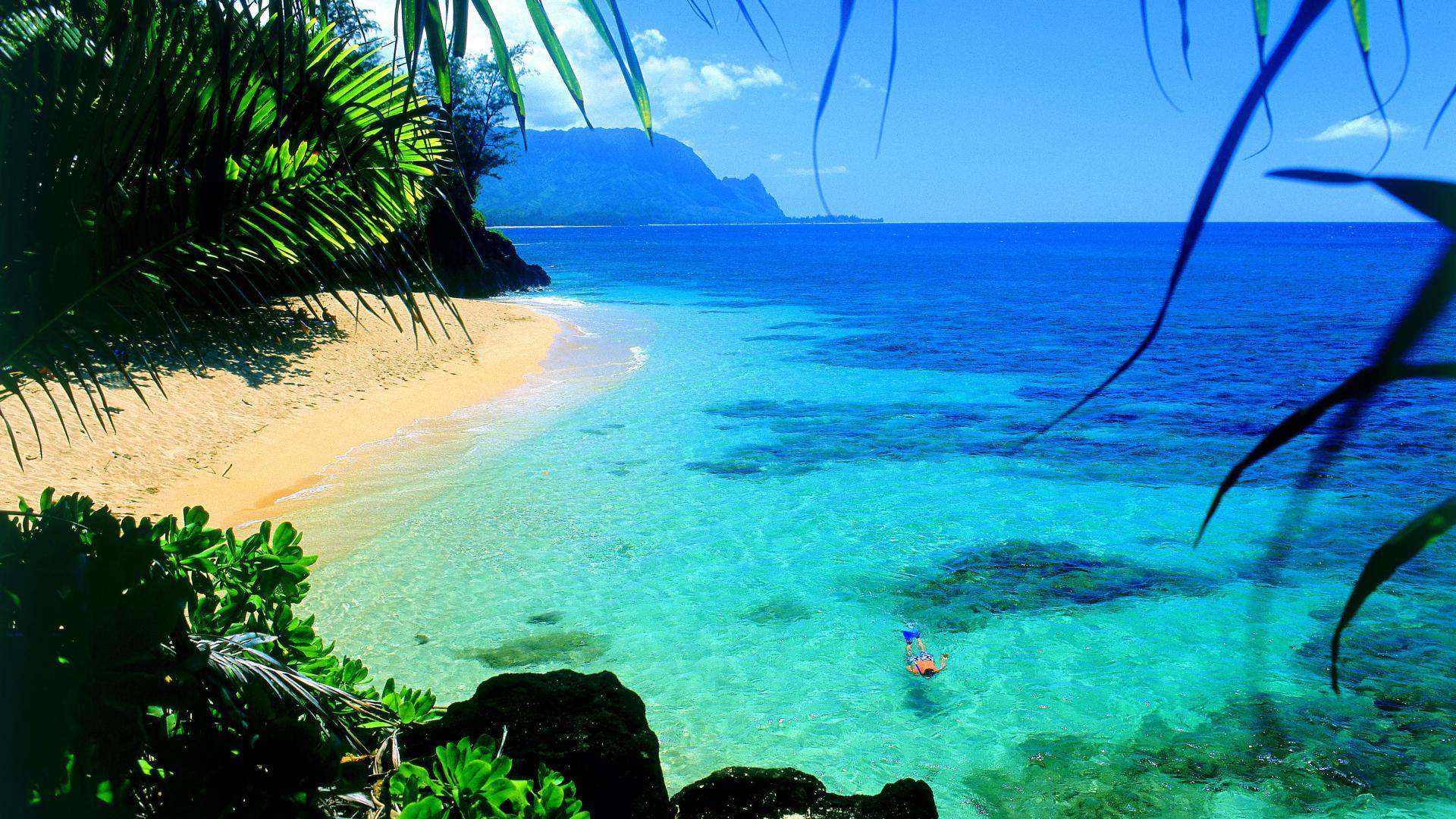 Hawaii Snorkel Travel High Definition Widescre 9284 Wallpaper 1920x1080
