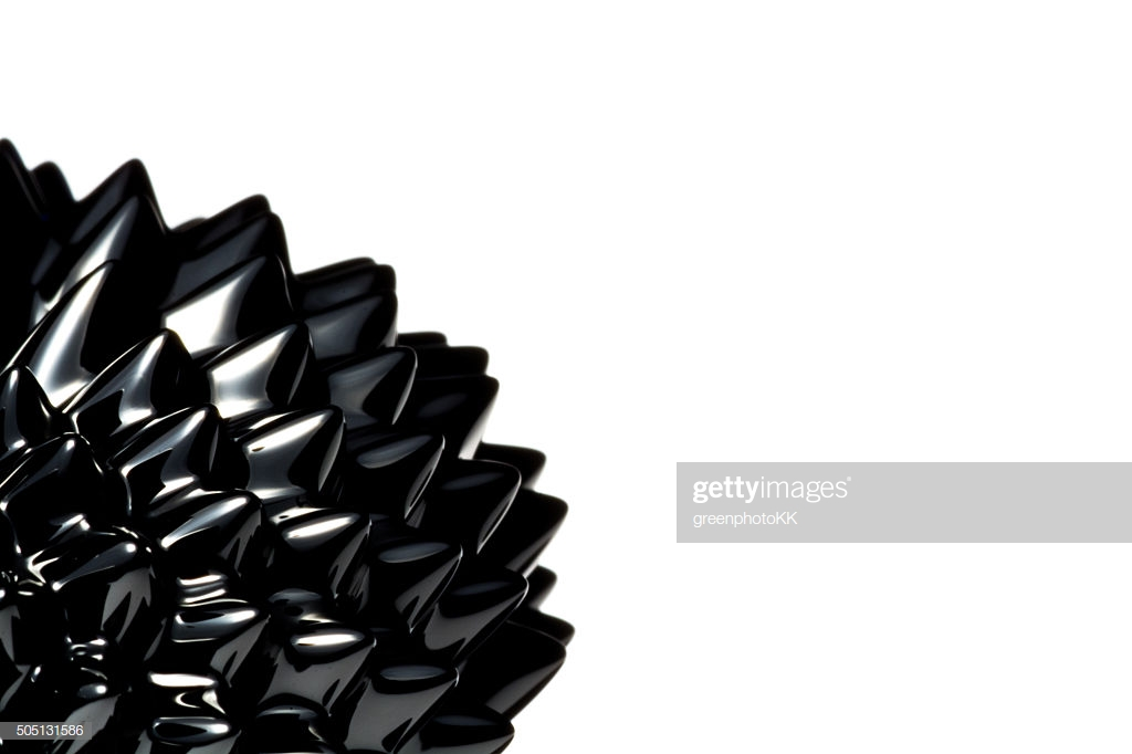 Ferrofluid White Background Stock Photo   Getty Images 1024x682