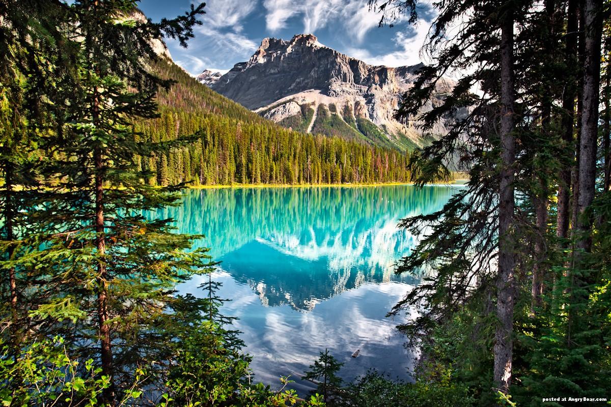 wallpaper amazing mountain lake - photo #32
