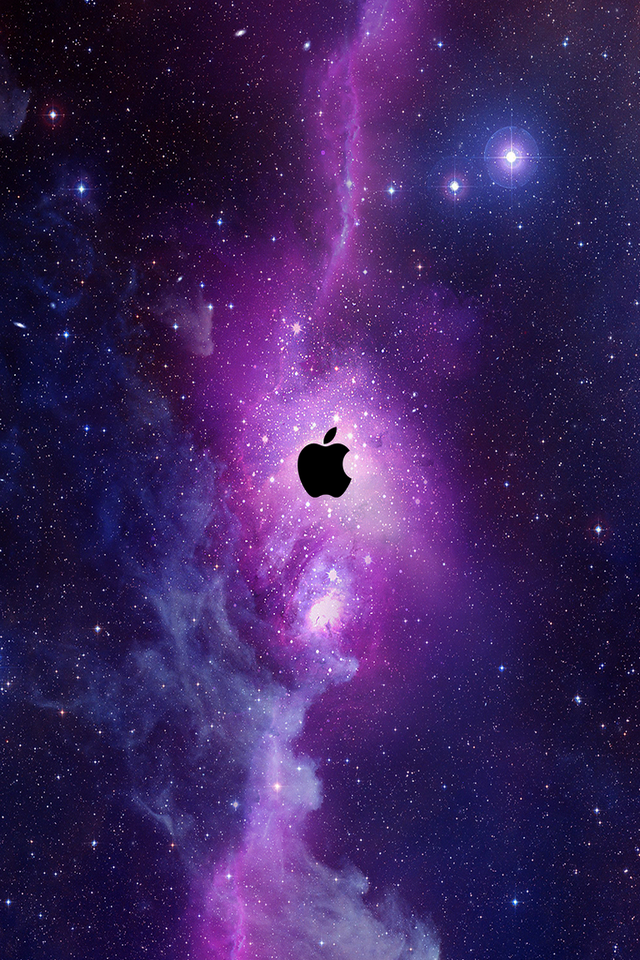 apple galaxy iphone retina wallpaper   5740   The Wondrous Pics 640x960