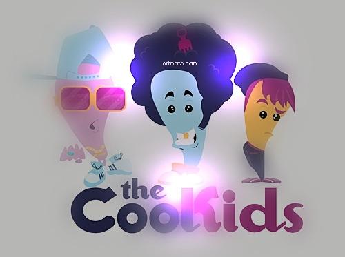 The Cool Kids Vector PSP Backgrounds 500x373