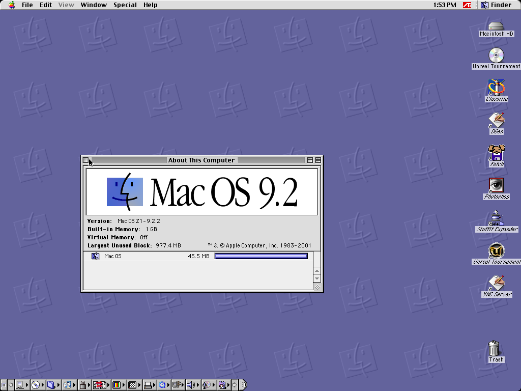 Mac OS 9 running out of RAM Apple Support Communities 1024x768