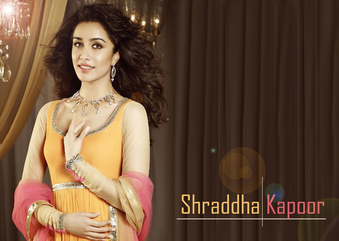 Actress Shraddha Kapoor Shraddha Kapoor Nice HD Wallpapers 1080x768
