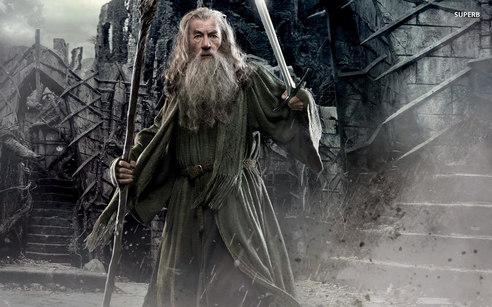 gandalf the hobbit the desolation of smaug   Medievalistsnet 1680x1050