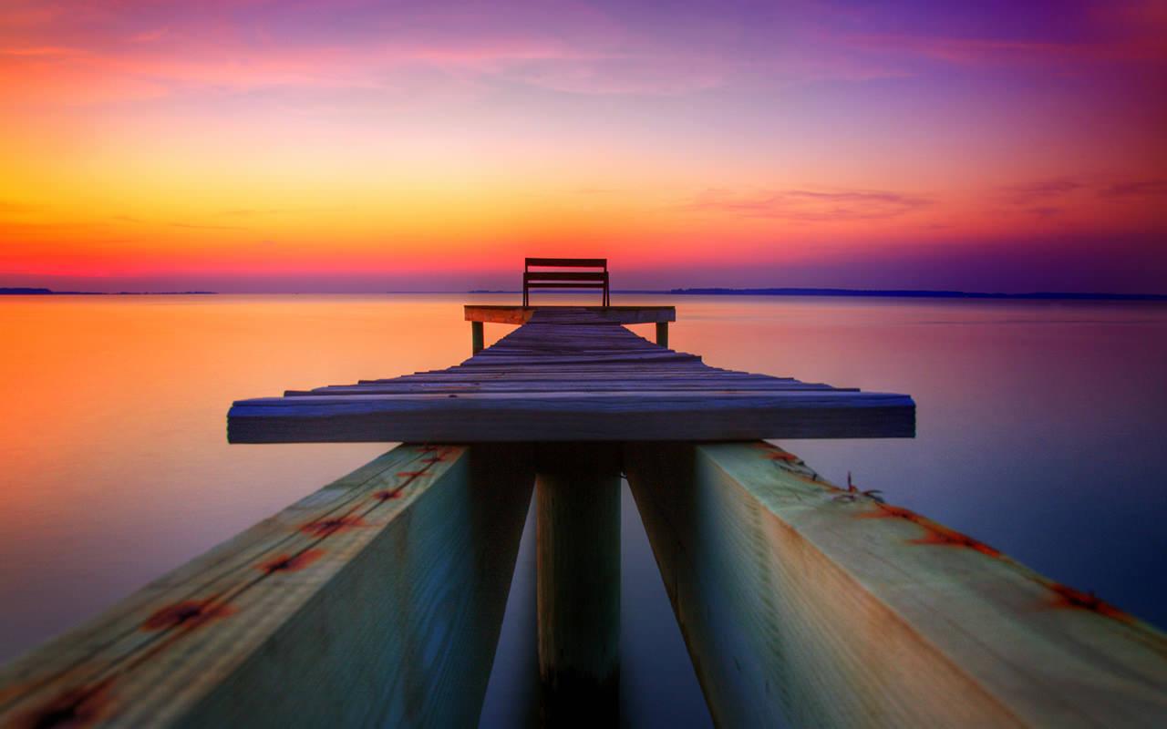 Sunset Wallpaper Desktop 1280x800
