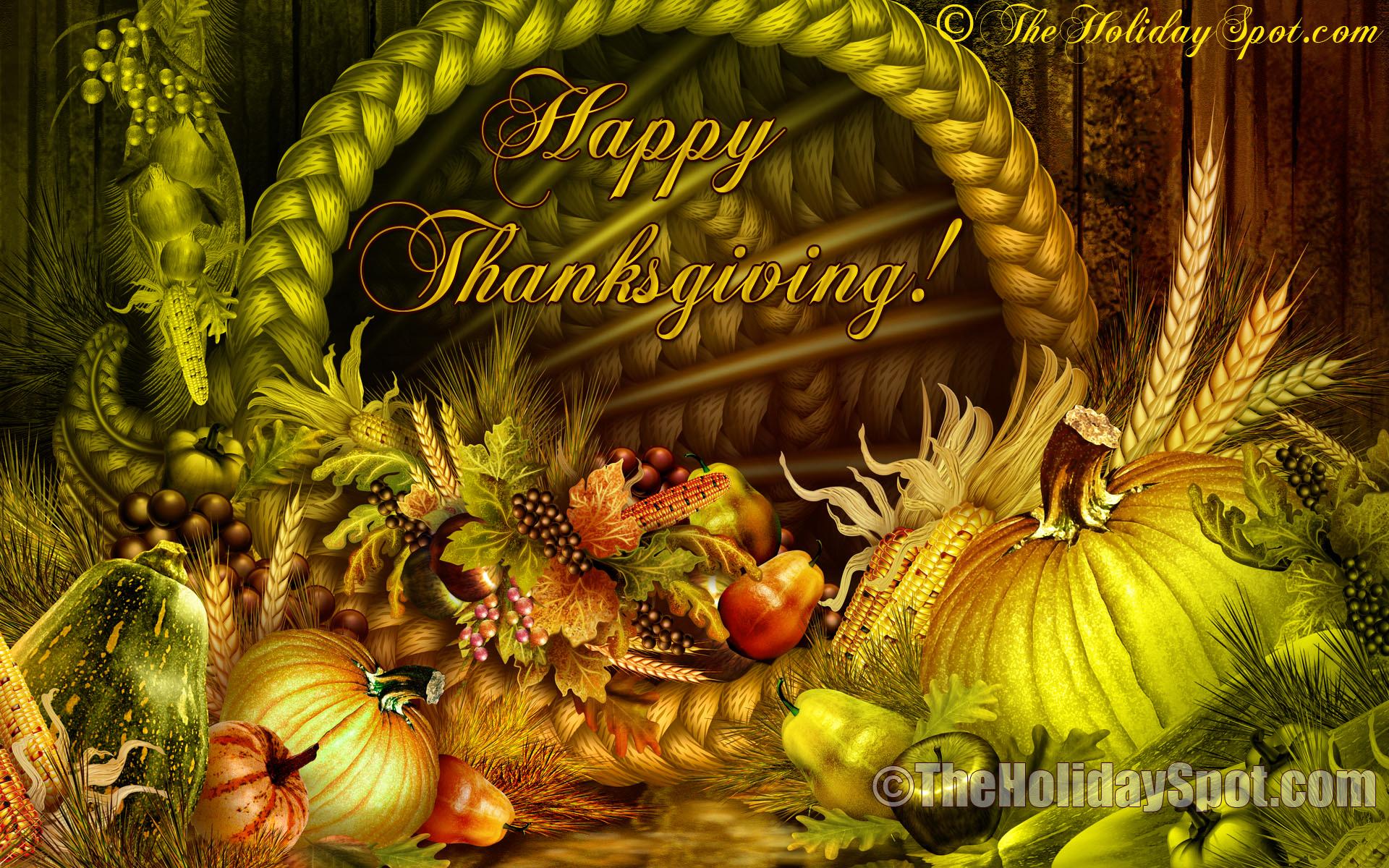 Thanksgiving Wallpaper HD 1920x1200