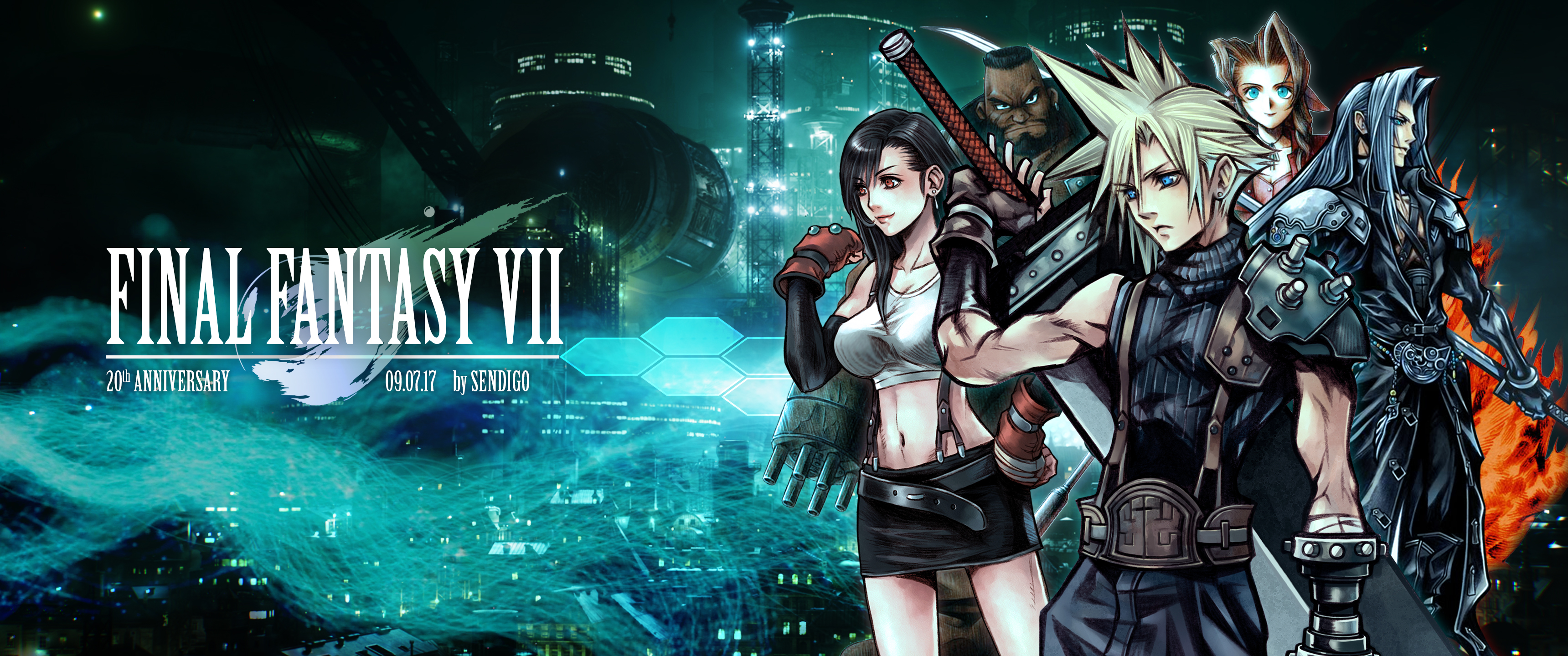Free Download Download Final Fantasy 7 Wallpapers 3440x1440 For