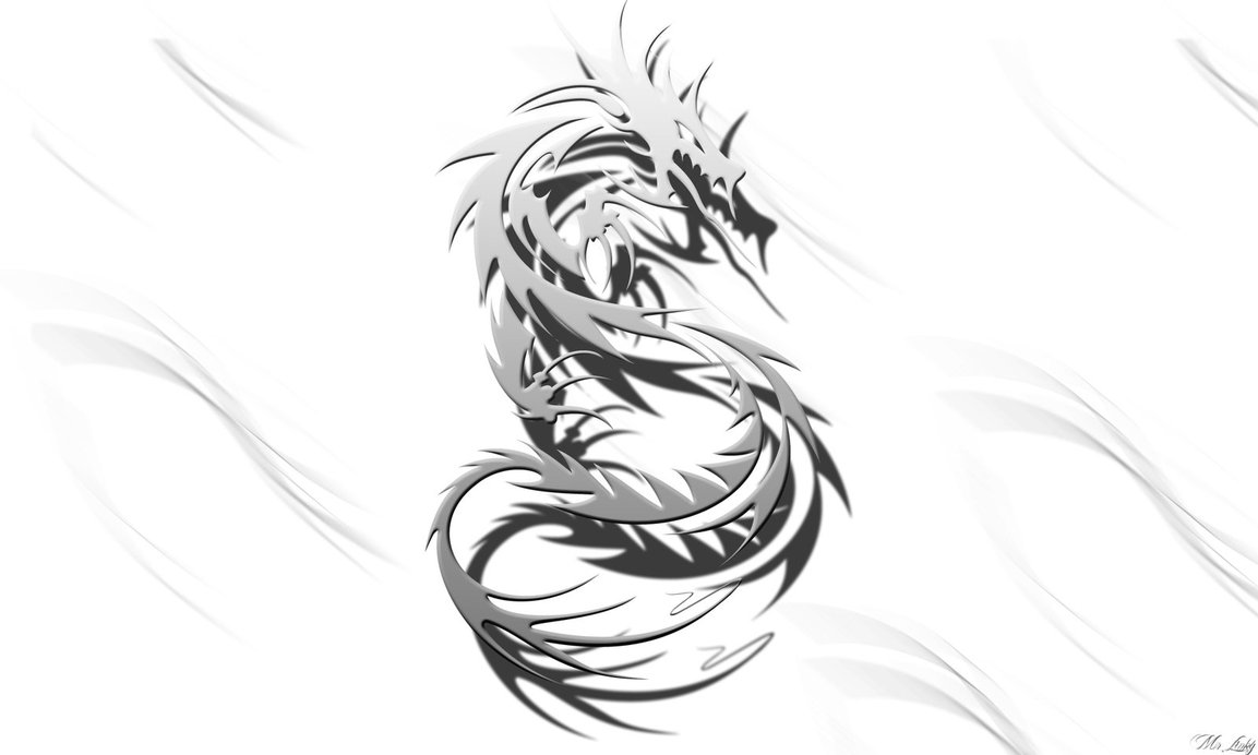 Free Download Tribal Dragon By Mrlinkyy 1153x692 For Your