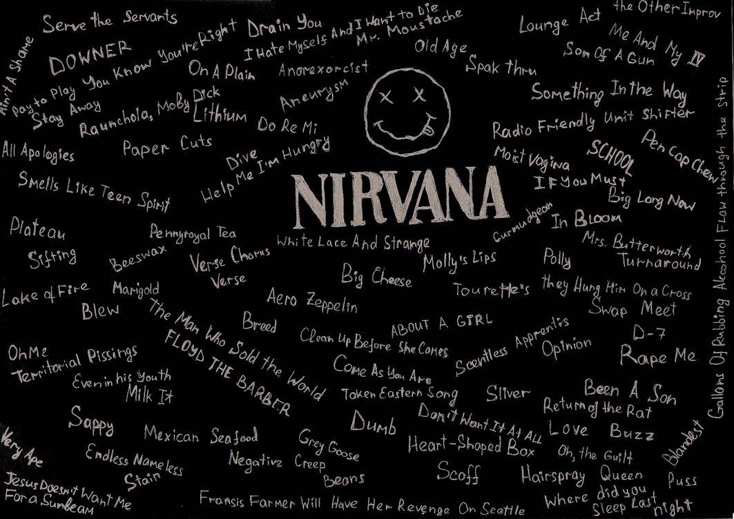 Nirvana Logo Tumblr Nirvana 1063x752