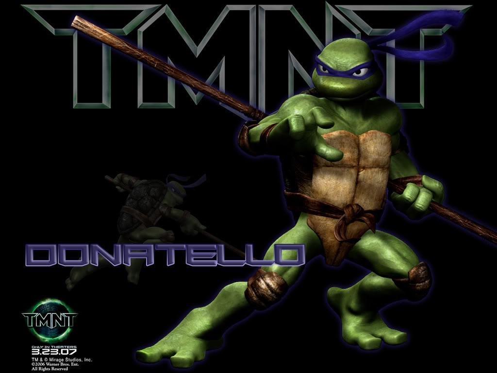 CUBEECRAFT TEMPLATES PAPERCRAFT TMNT Donatello Cubeecraft 1024x768
