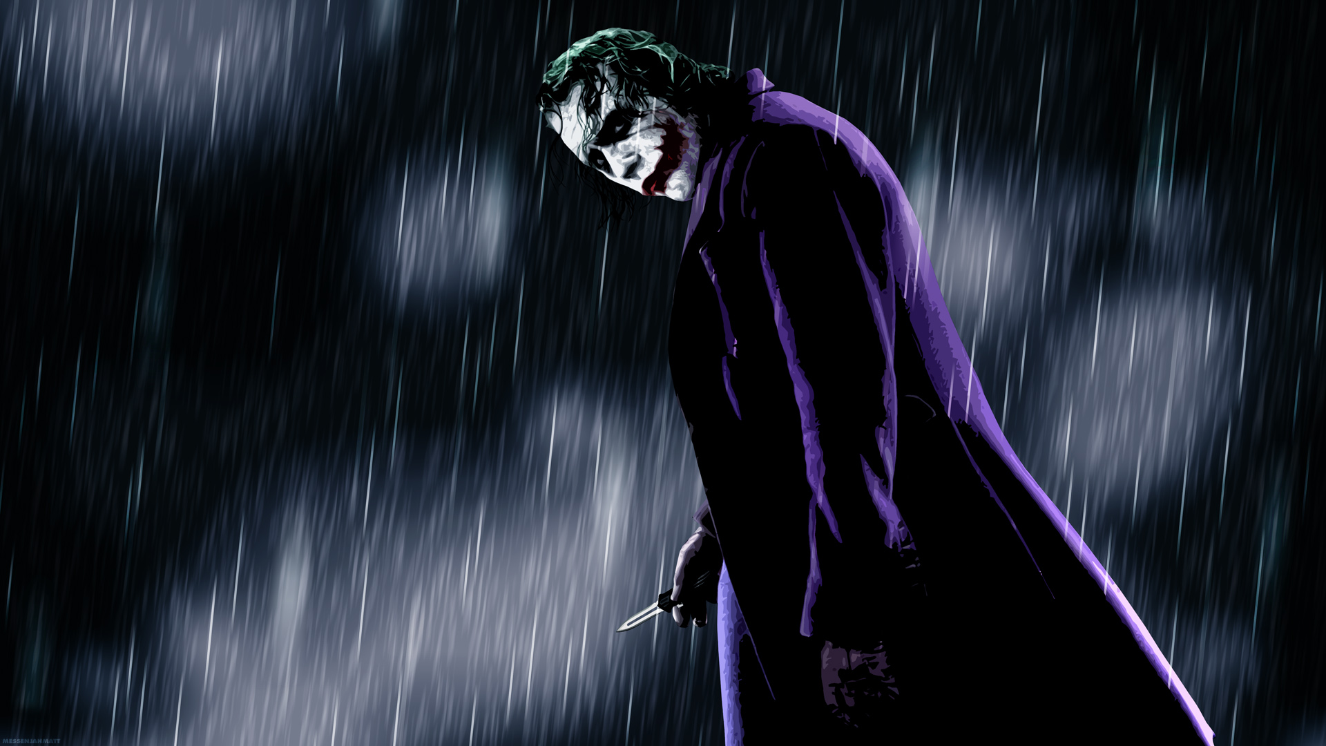 joker   The Joker Wallpaper 28092695 1920x1080