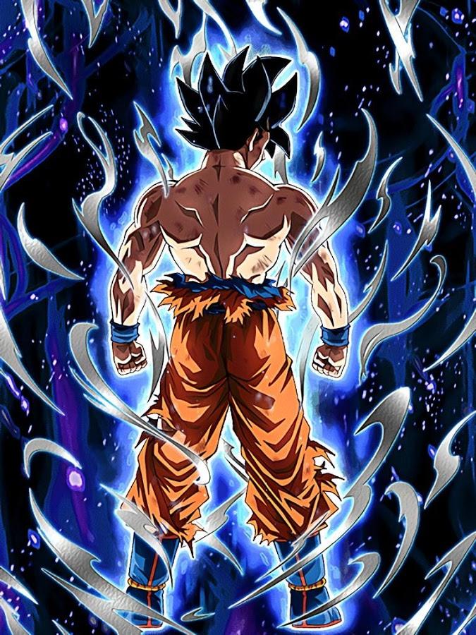 88+ Goku Ultra Instinct Wallpapers on WallpaperSafari