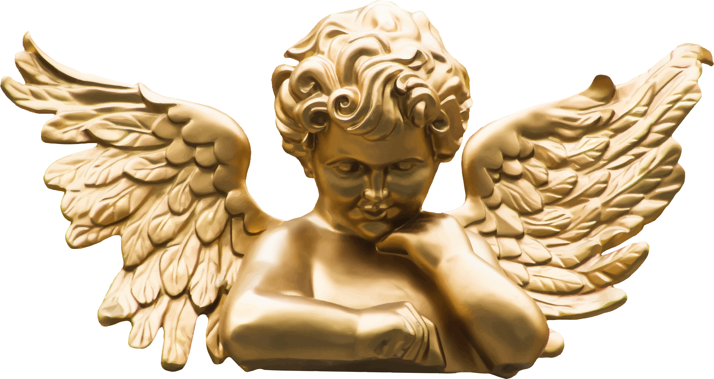 Cherubim statues clipart images gallery for download MyReal 2324x1234