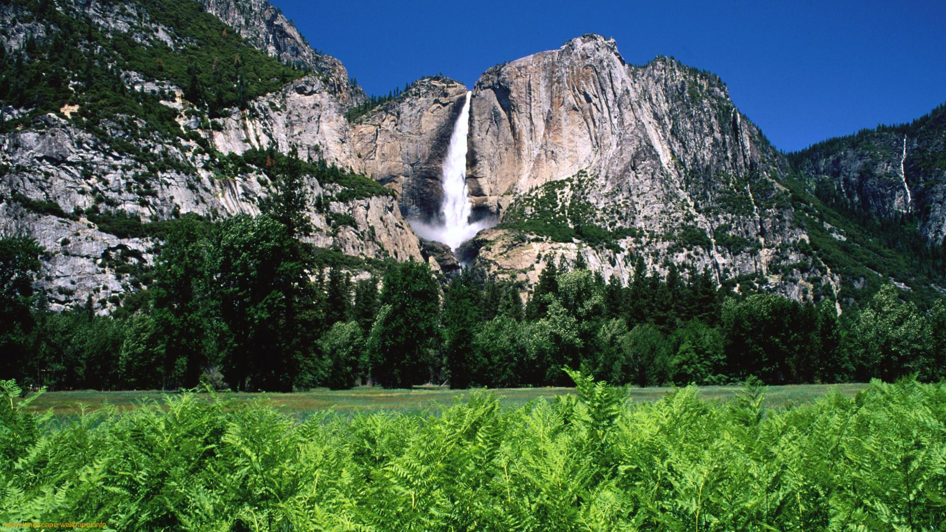 Yosemite HD background Landscapes wallpapers 1920x1080