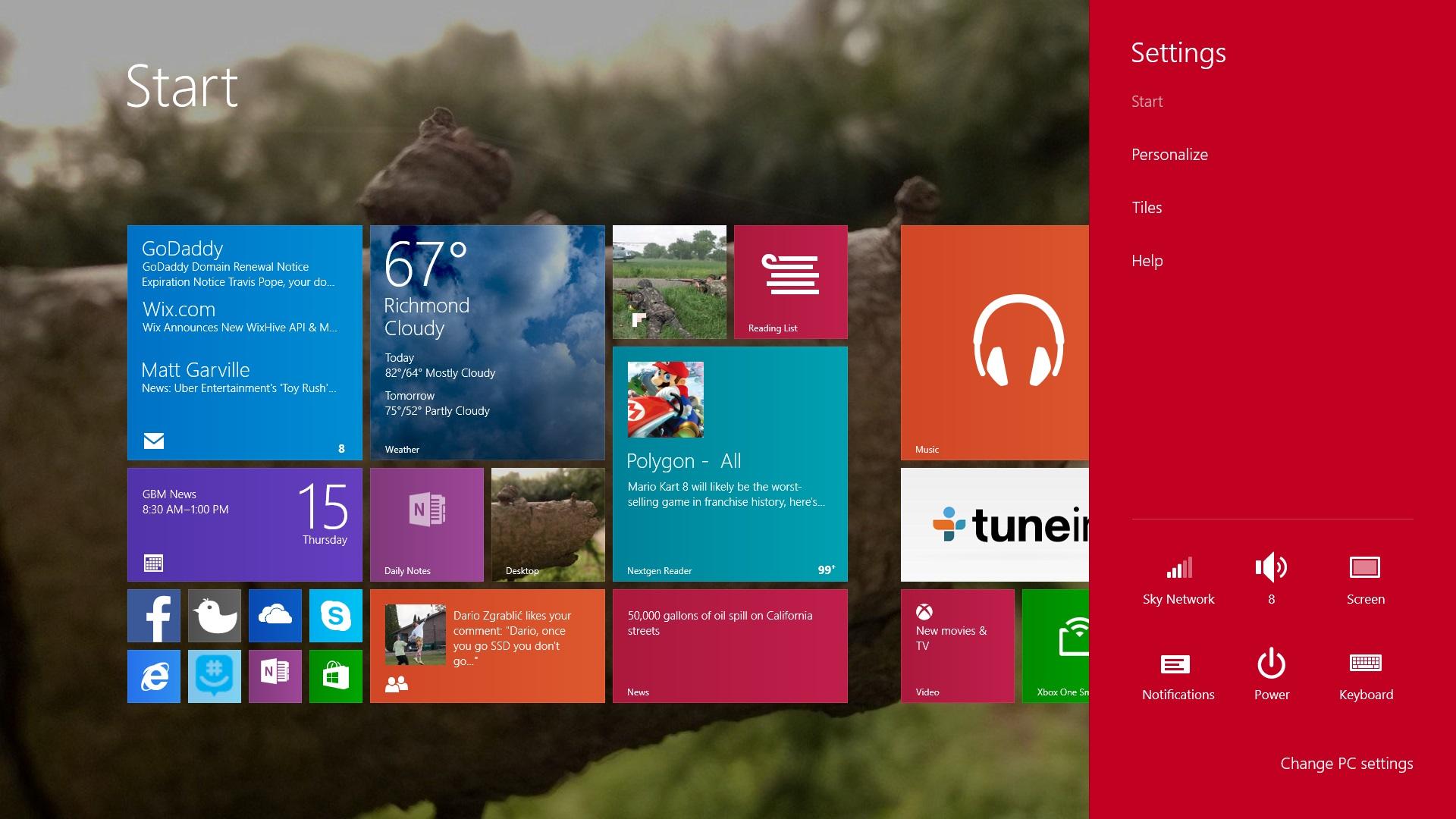 Windows 81 Lock Screen Wallpaper DiyMidcom 1920x1080