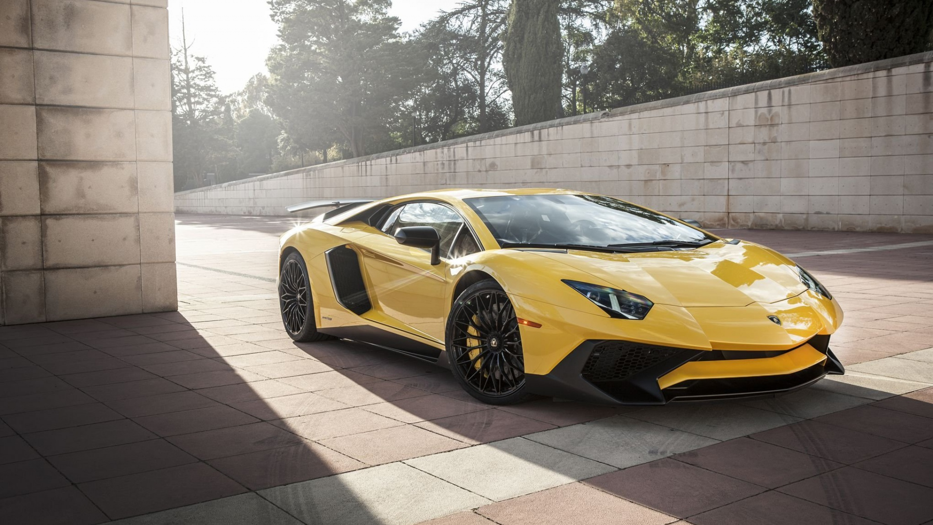 Free Download Lamborghini Aventador Sv Hd Wallpapers 1920x1080