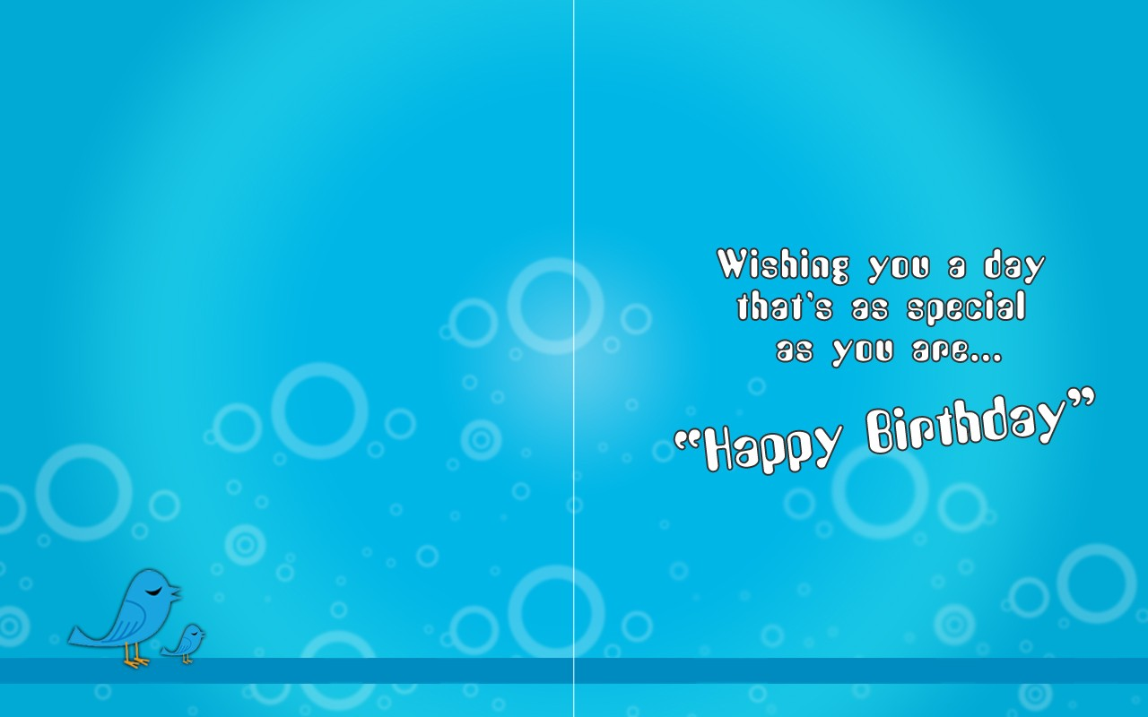 Awesome Happy Birthday Card Wallpaper 6666 Wallpaper Wallpaper 1280x800