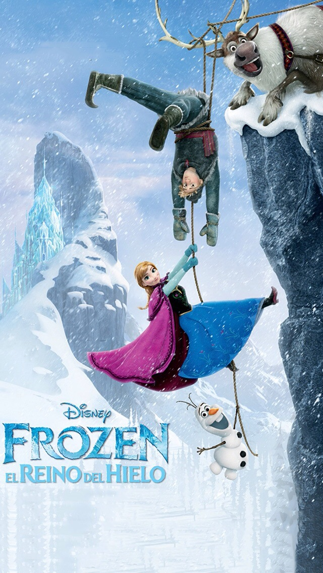 iPhone 5 Wallpaper Entertainment frozen disney 640x1136