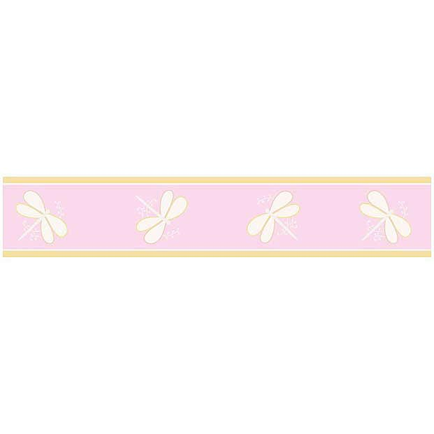Pink Dragonfly Dreams Wallpaper Border by Sweet Jojo Designs 621x621