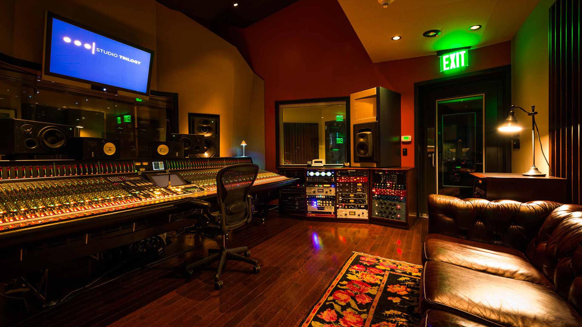 HD Recording Studio Wallpaper 1920x1080