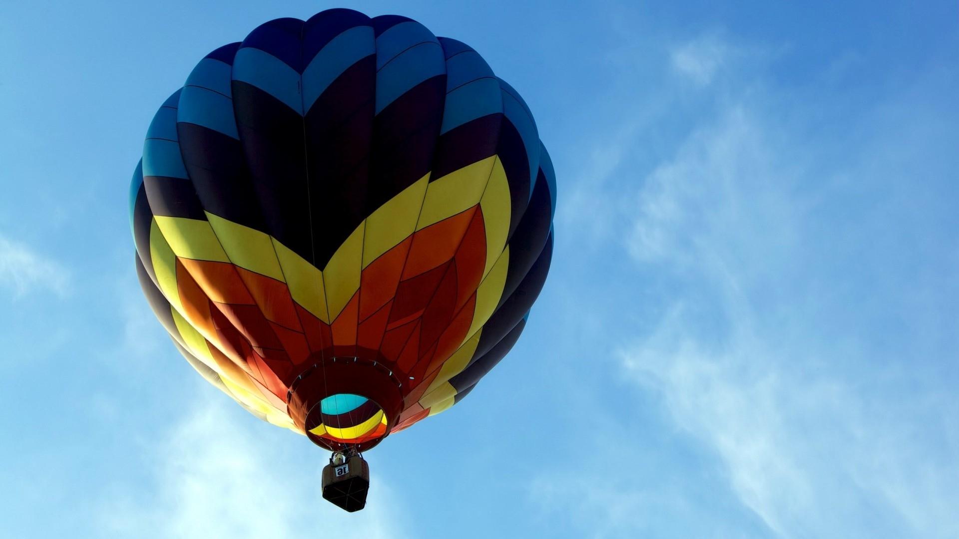 Colorful hot air balloon Widescreen Wallpaper   8180 1920x1080