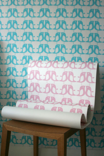 Isak Penguin   Kids Wallpaper Ideas Designs houseandgardencouk 426x639