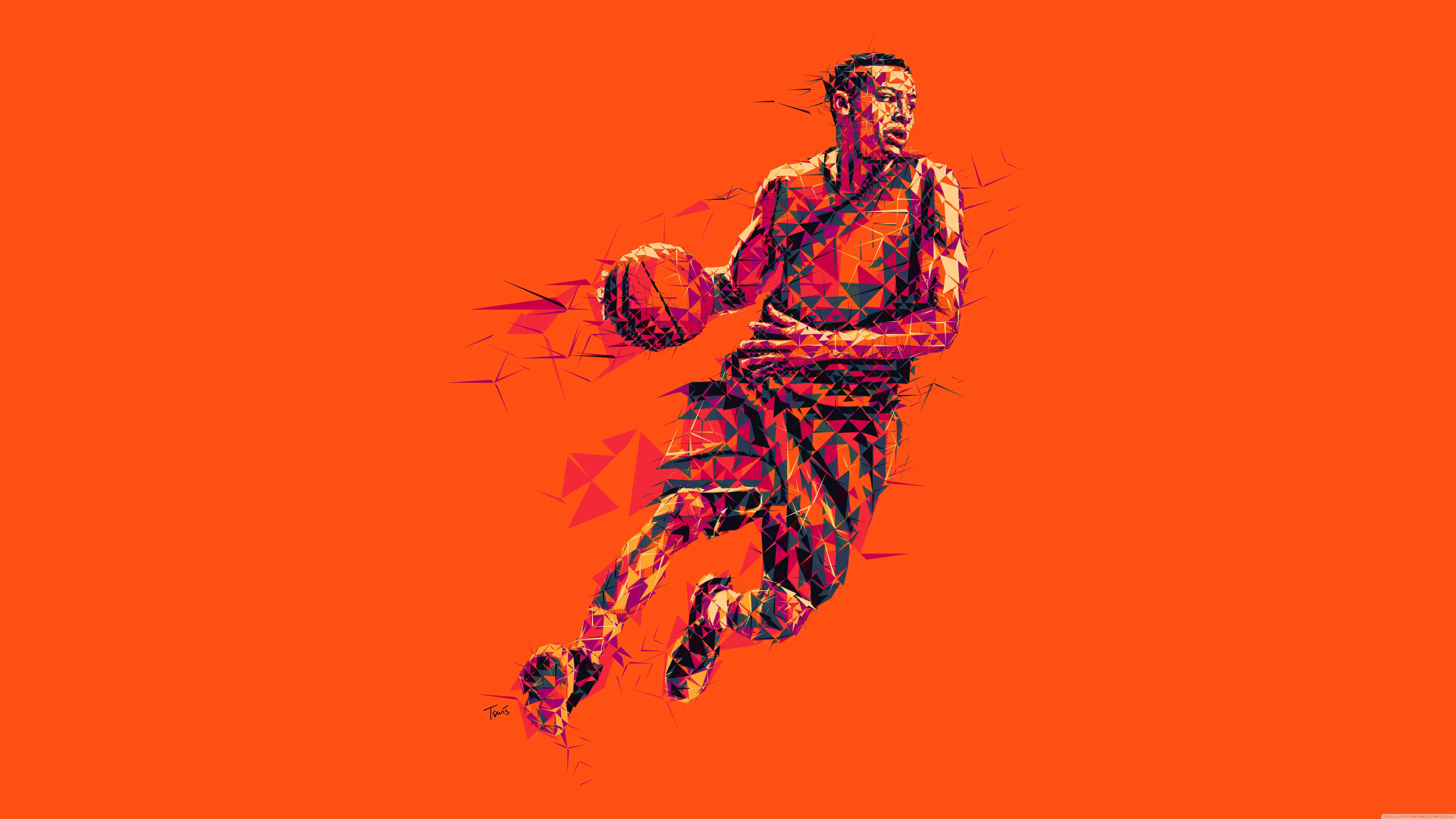 Basketball Player UHD 8K Wallpaper   Pixelzcc 7680x4320