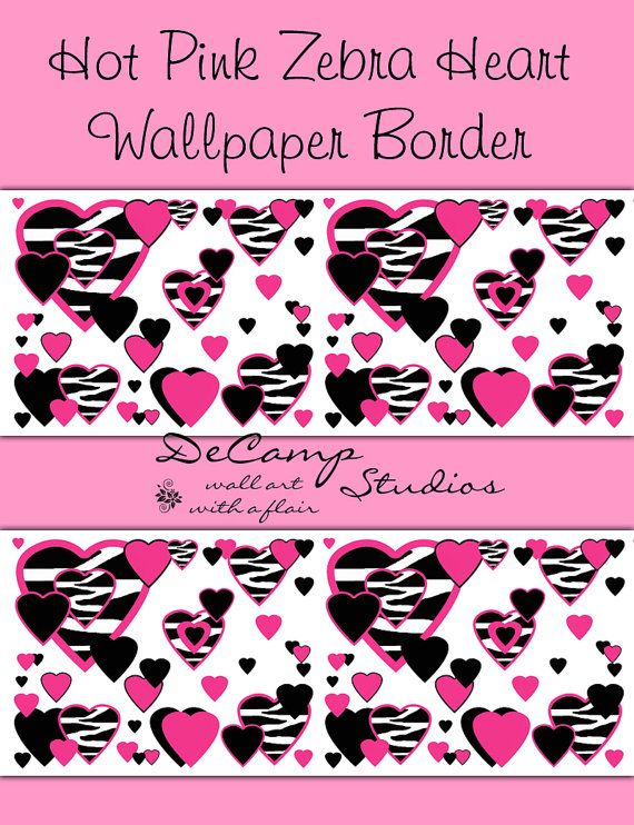 Wallpaper Border Wall Decals For Teen Girls Bedroom Or Childrens Room  570x742