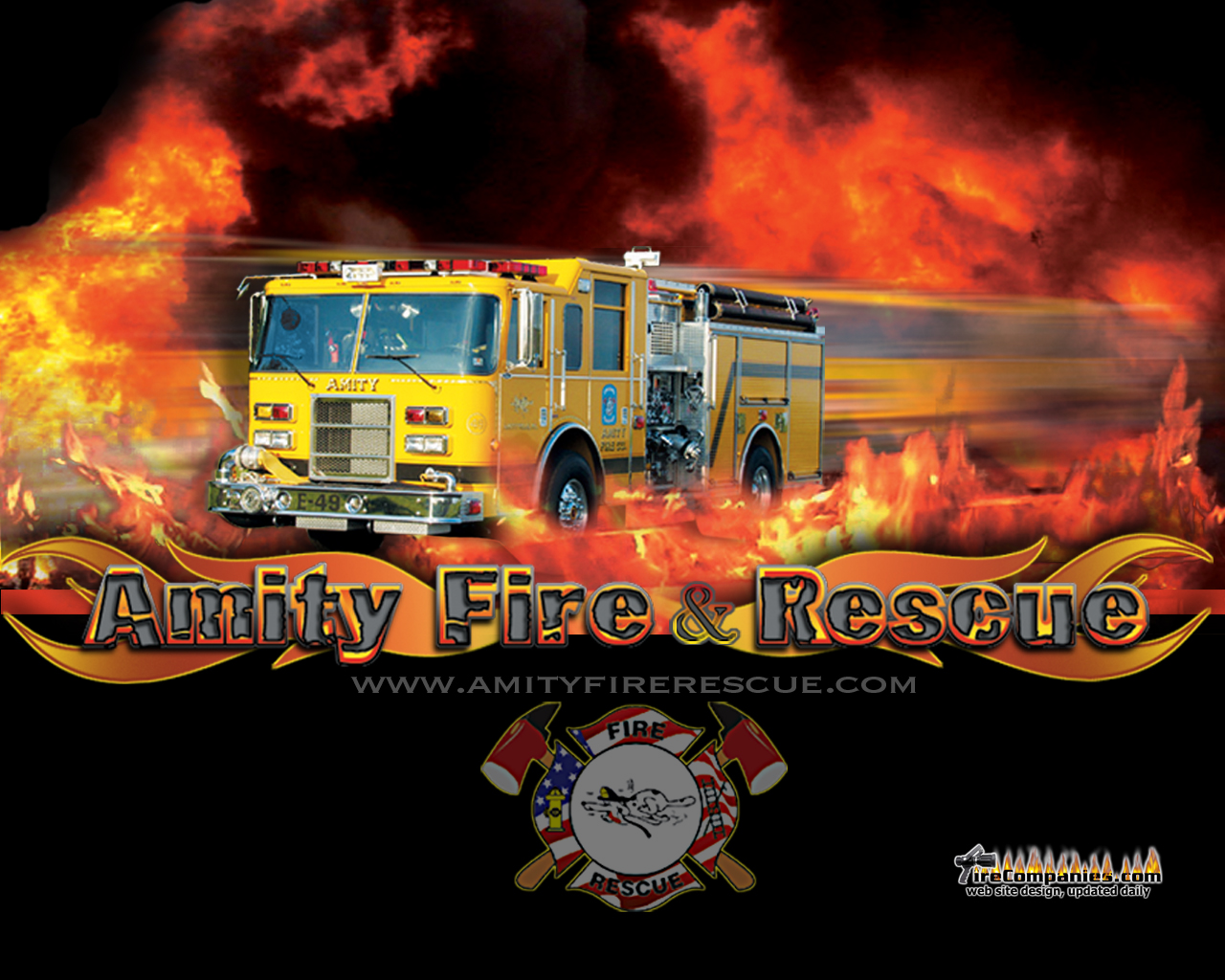 fire department wallpaper 1280x1024