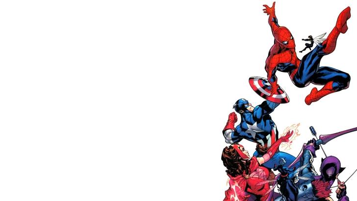 comics spiderman captain america marvel comics 1920x1080 wallpaper 728x409