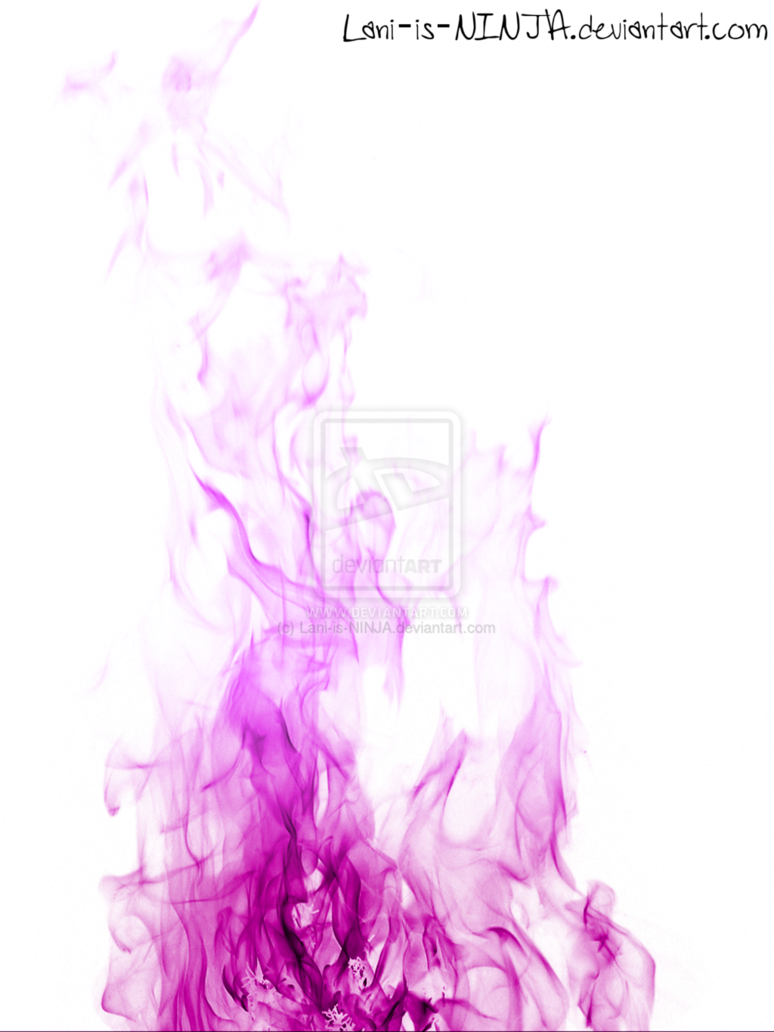 Purple flames with white background by Lani is NINJA 774x1032