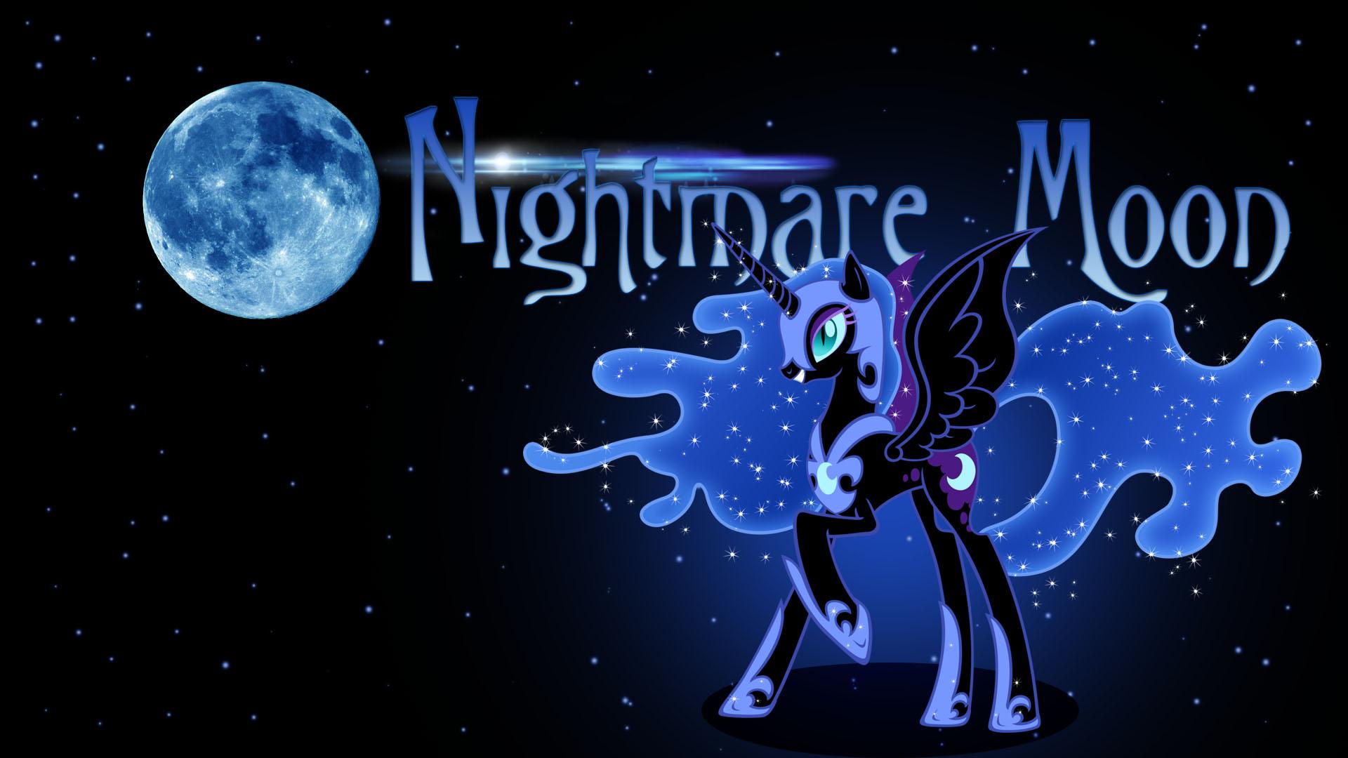 Nightmare Moon Wallpaper by IIThunderboltII 1920x1080