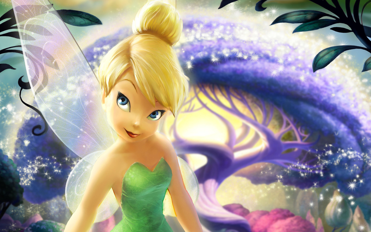 Wallpapers HD Tinkerbell 1280x800