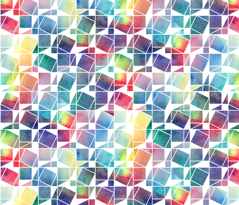 Pythagoras   rainbow fabric   emmaallardsmith   Spoonflower 470x403