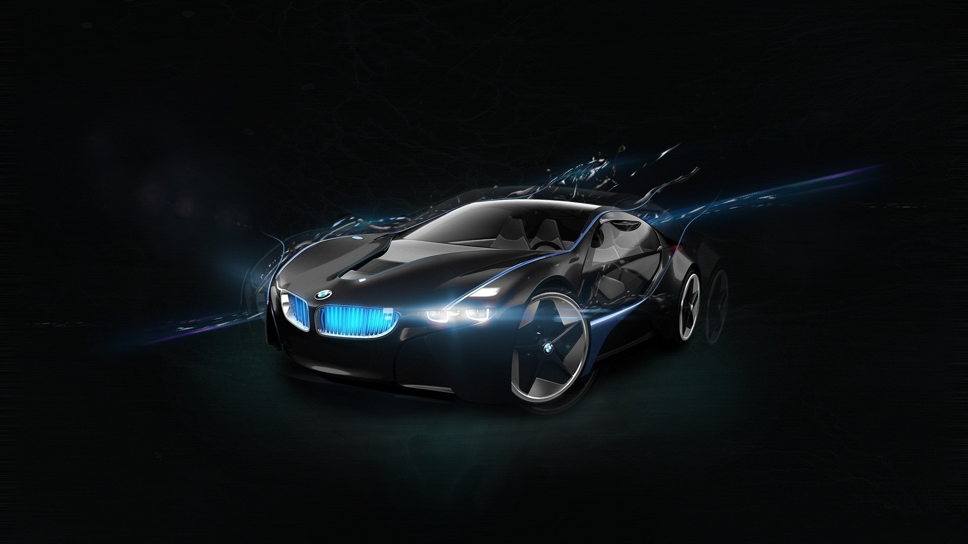 BMW Vision Super Car Wallpapers HD 1920x1080