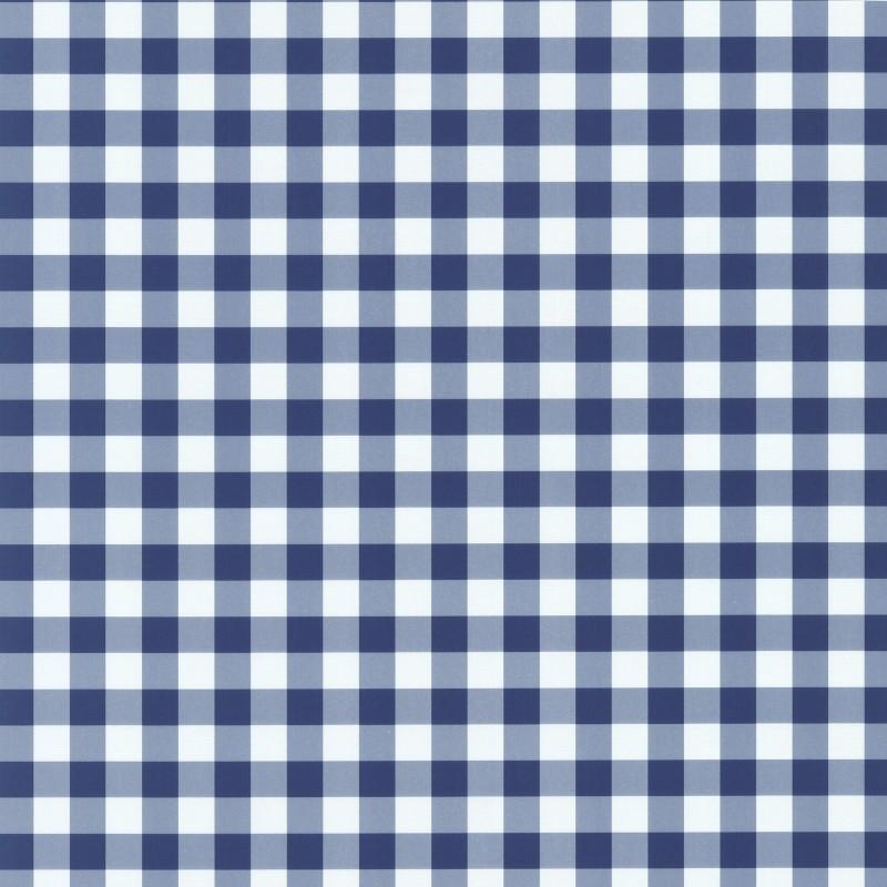 Checkered Wallpaper: Blue Check Wallpaper