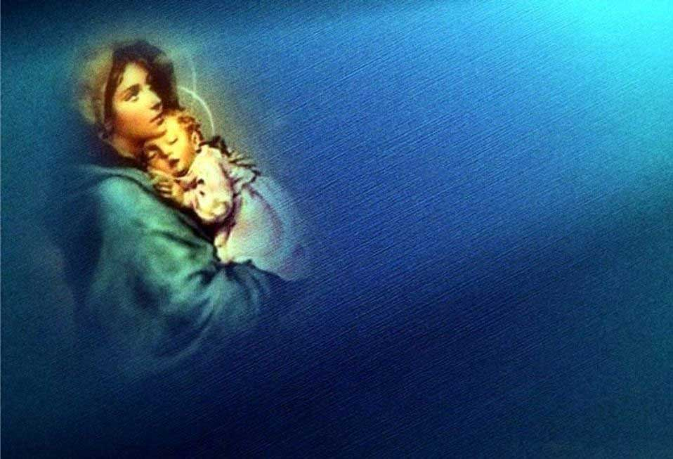 Virgin Mary Wallpaper