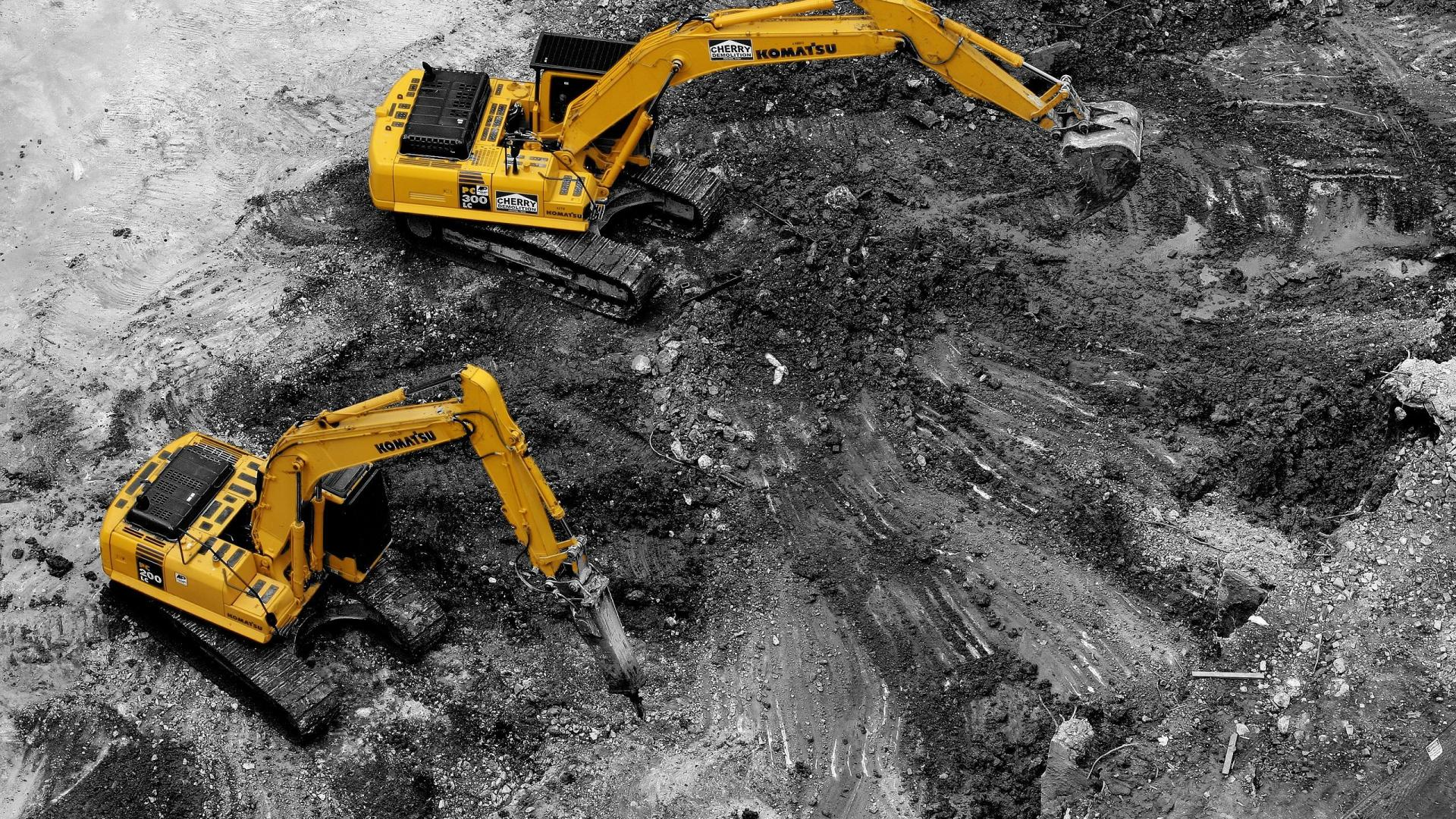 50 Construction Wallpapers For Download in High 1920x1080