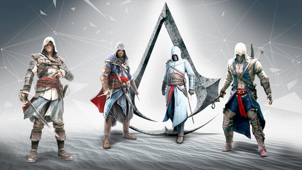 фото всех персонажей из игры ассасин особым спросом среди