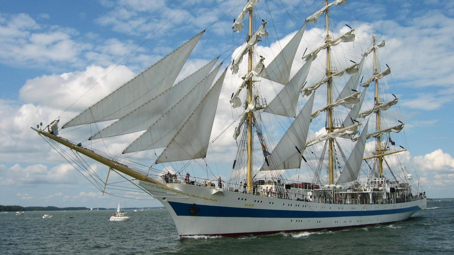 Tall Ships Race wallpaper 671926 1920x1080