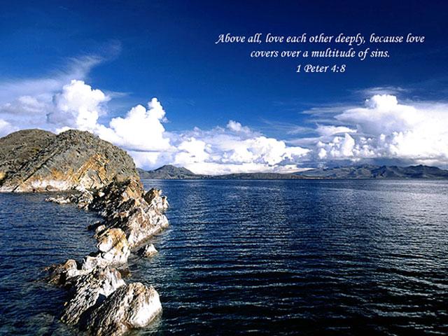Love Bible Verse Screensaver Software Informer Screenshots 640x480