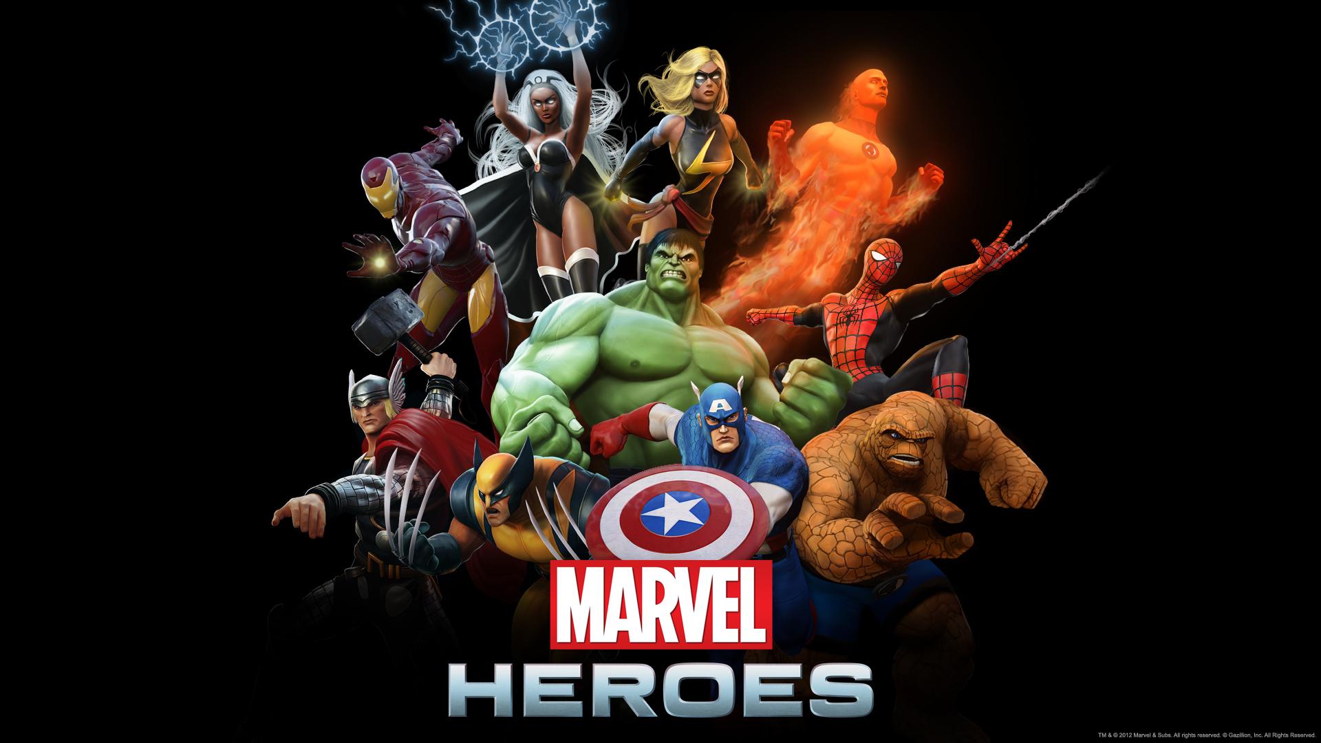 Pics Photos   Marvel Heroes 2013 Game Wallpaper Hd 1920x1080