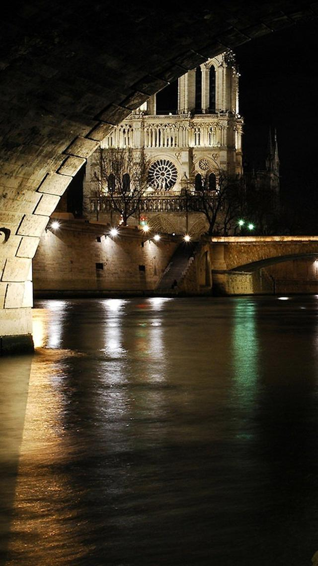 free notre dame night iphone 5 backgrounds hd 640x1136 hd wallpapers 640x1136