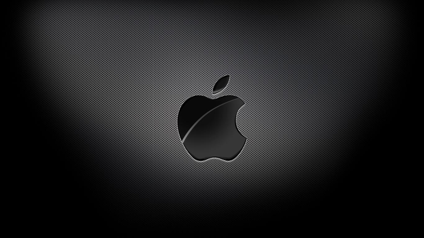 Black Background Mac Wallpaper Download Mac Wallpapers Download 1366x768