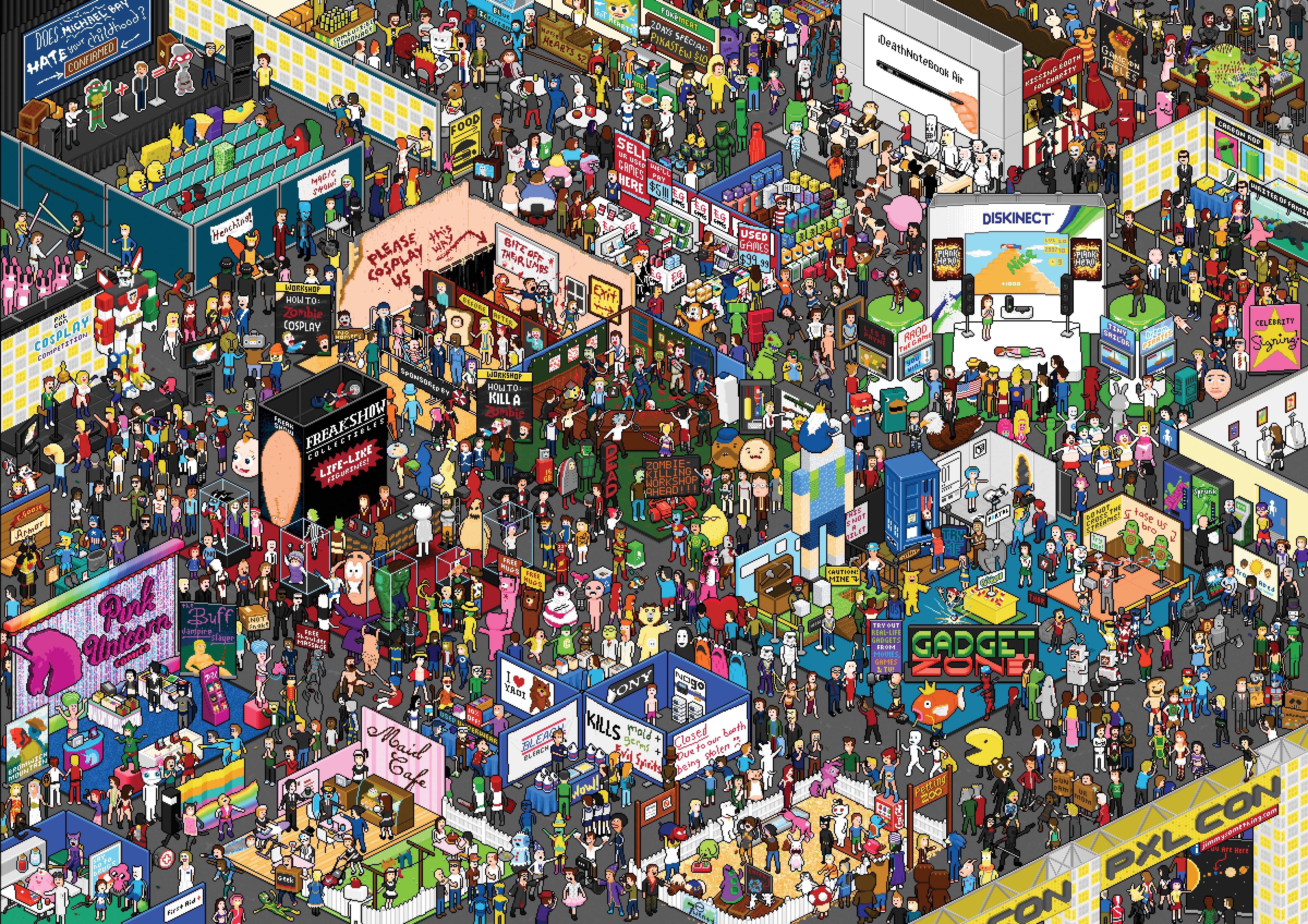 Find Waldo Find Reddit imagenoelshackcom 4800x3392