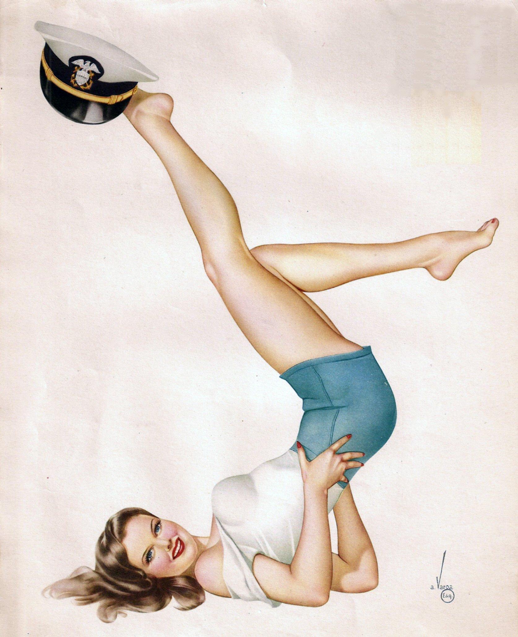 George Petty Pin Up Girls: Vargas Pin Up Wallpaper